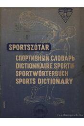 Sportszótár - Régikönyvek