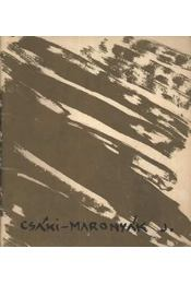 Csáki-Maronyák József kiállítása - Régikönyvek