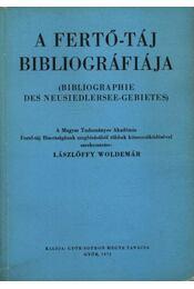 A Fertő-táj bibliográfiája - Régikönyvek