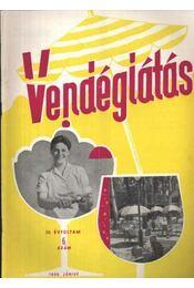Vendéglátás IV. évfolyam 6. szám 1960. június - Régikönyvek