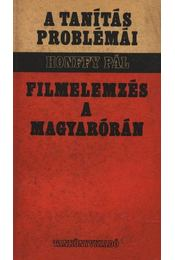 Filmelemzés a magyarórán - Régikönyvek