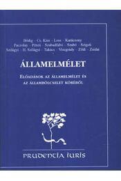 Államelmélet - Régikönyvek