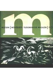 Múzsák Múzeumi Magazin 1972. évf. (teljes) - Régikönyvek