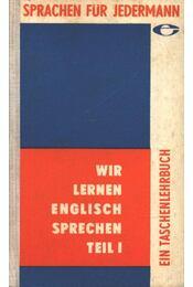 Wir lernen Englisch sprechen - Régikönyvek