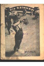 Kis Szinházi Élet 1936. 31. szám - Régikönyvek