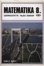 Matematika 8. - Régikönyvek