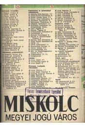 Miskolc Megyei Jogú Város - Régikönyvek