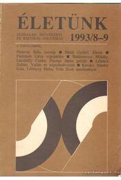Életünk 1993/8-9 - Régikönyvek