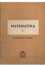 Matematika 4. - Régikönyvek