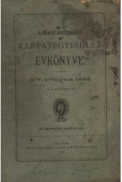A Magyarországi Kárpátegyesület Évkönyve - XV. évfolyam, 1888 - Régikönyvek