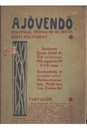 A Jövendő 1911/8-9. szám - Régikönyvek