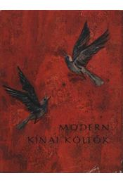 Modern kínai költők - Régikönyvek
