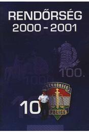 Rendőrség 2000-2001. - Régikönyvek