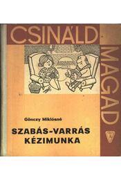 Szabás-varrás kézimunka - Régikönyvek
