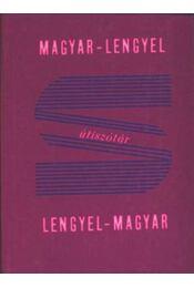 Magyar-lengyel, lengyel-magyar útiszótár - Régikönyvek
