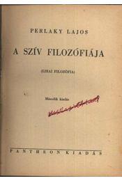 A szív filozófiája - Régikönyvek