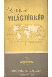 Politikai világtérkép - Régikönyvek