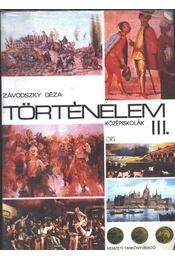 Történelem III. - Régikönyvek
