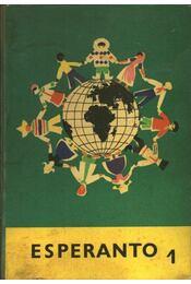 Esperanto 1. - Eszperantó nyelvkönyv - Régikönyvek