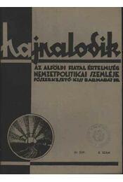 Hajnalodik - IV. évf. 8. - Régikönyvek