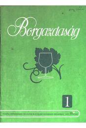 Borgazdaság 1987/1. - Régikönyvek