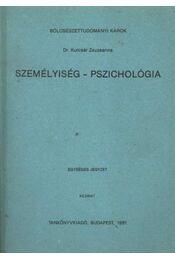 Személyiség - pszichológia - Régikönyvek