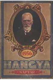Hangya-Naptár 1936 - Régikönyvek