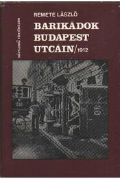Barikádok Budapest utcáin 1912 - Régikönyvek