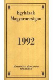 Egyházak Magyarországon 1992 - Régikönyvek
