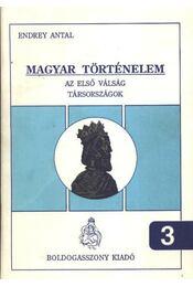 Magyar történelm 3 - Régikönyvek