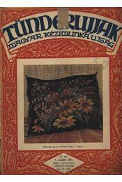 Tündérujjak 1928. január 1. szám - Régikönyvek