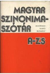 Magyar szinonima szótár A-Zs - Régikönyvek