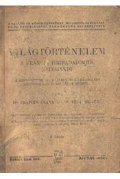 Világtörténelem a francia forradalomtól napjainkig IV. kötet - Régikönyvek