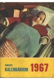 Kincses kalendárium 1967 - Régikönyvek
