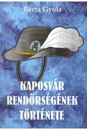 Kaposvár rendőrségének története - Régikönyvek