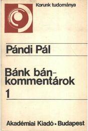 Bánk bán-kommentárok 1. - Régikönyvek