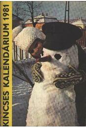 Kincses Kalendárium 1981. - Régikönyvek
