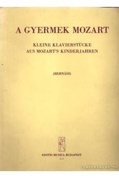 A gyermek Mozart - Régikönyvek