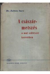 A császármetszés - Régikönyvek