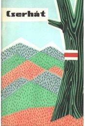 Cserhát (térkép) - Régikönyvek