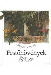 Festőnövények - Régikönyvek