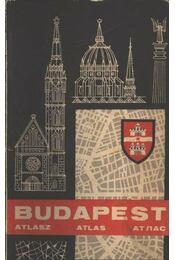 Budapest atlasz - Régikönyvek
