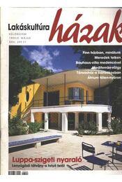 Lakáskultúra házak különszám 1999/2. május - Régikönyvek