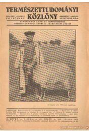 Természettudományi közlöny 1937. 7. szám - Régikönyvek