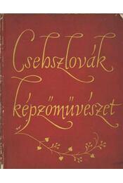 Csehszlovák képzőművészet XIX.-XX. század - Régikönyvek