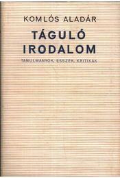 Táguló irodalom - Régikönyvek
