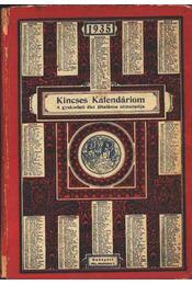 Kincses Kalendáriom 1935. - Régikönyvek