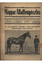 Magyar állattenyésztés 1940. júl.15. - Régikönyvek