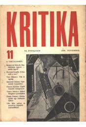 Kritika 1968. novenber VI. évfolyam 11. - Régikönyvek