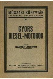 Gyors diesel-motorok - Régikönyvek